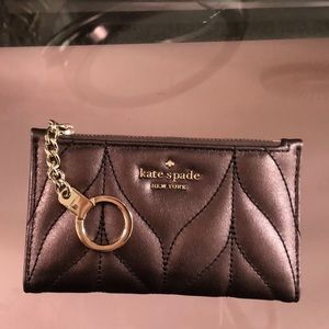 SOLD Kate Spade Quilted Slim Wallet